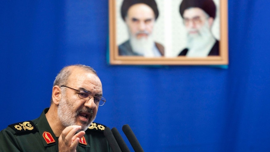 July 16, 2010: Hossein Salami, deputy head of Iran's Revolutionary Guard.