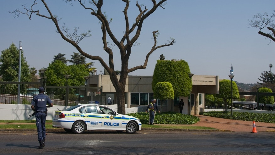 The U.S. Embassy in Pretoria, in 2009.