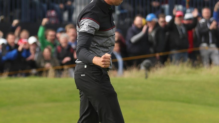 Henrik Stenson and Phil Mickelson battle in Open final round