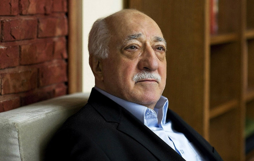 FILE - In this March 15, 2014, file photo, Turkish Islamic preacher Fethullah Gulen is pictured at his residence in Saylorsburg, Pa. Gulen is charged in Turkey with plotting to overthrow the government in a case his supporters call politically motivated. (AP Photo/Selahattin Sevi, File)