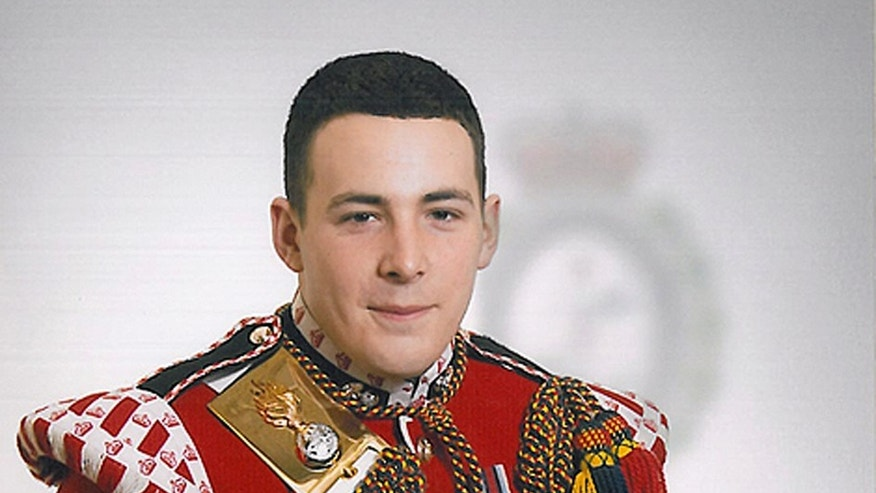 Police said the attempted abduction had some similarities to the attack that killed British soldier Lee Rigby, seen here, in 2013.