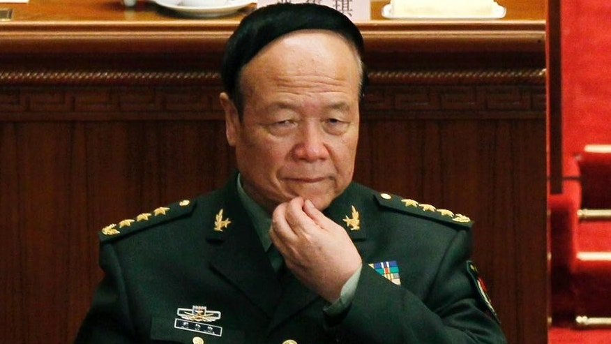 Guo Boxiong in 2012.