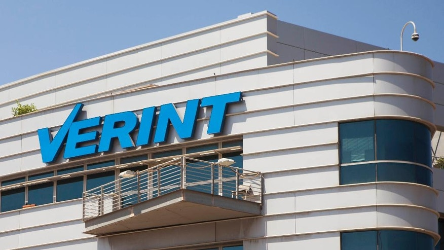 """This Thursday, July 28, 2016 photo shows the Verint offices in Herzliya, Israel. The Mellville, N.Y.-based company discloses little about its surveillance products, which it says collect and parse massive data sets to """"detect, investigate and neutralize threats."""" Such so-called """"lawful intercept"""" software available for years to Western police and spy agencies is now easily obtained by governments that routinely violate basic rights. (AP Photo/Dan Balilty)"""