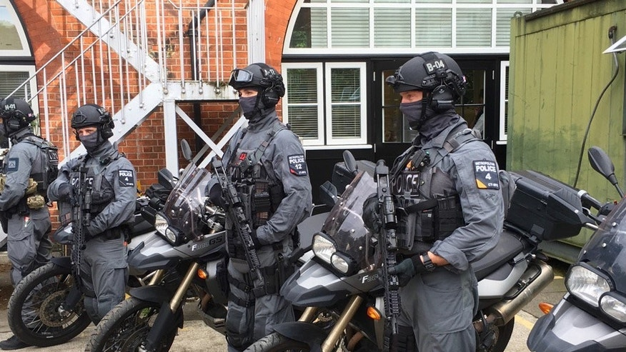 london armed police 83