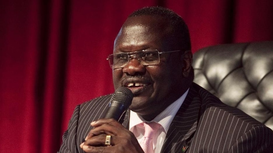 Riek Machar in 2010.