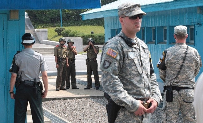 N. Korea threatens to fire at truce village holding US, S. Korea troops