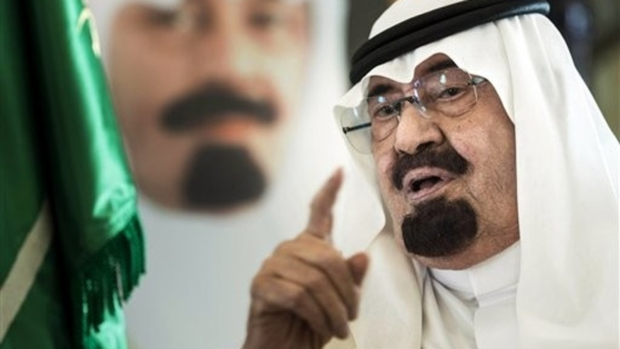 The late Saudi King Abdullah, seen here in 2014, aimed to crush dissent.