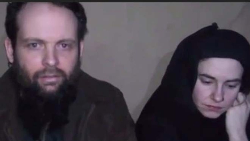 U.S. evaluating Taliban video of captive couple in Afghanistan