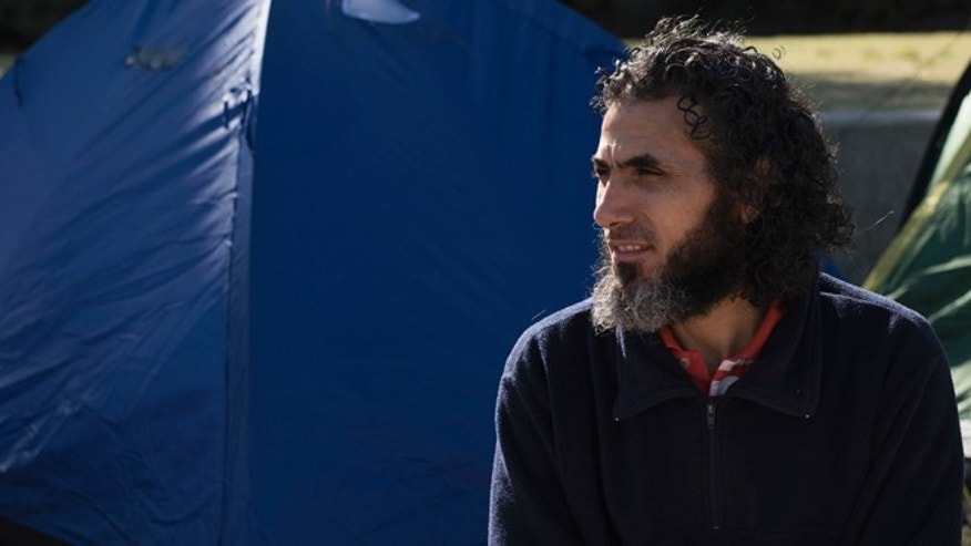 Former Guantanamo detainee Abu Wa'el Dhiab in a May 5, 2015 photo.