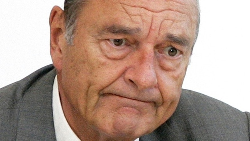 Jacques Chirac seen during a meeting in 2006.