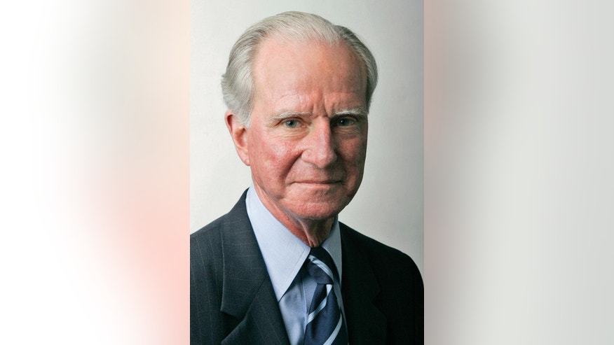 In this July 7, 2005 photo provided by the United Nations, Joseph Verner Reed, Jr., is shown. Reed, a U.N. undersecretary-general, former U.S. ambassador and chief of protocol under President George H.W. Bush, died Thursday, Sept. 29, 2016, at Greenwich Hospital in Connecticut. He was 78. (Evan Schneider/The United Nations via AP)