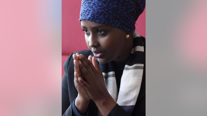 Somali Fadumo Dayib,  who is living in Finland, pictured during an interview in Helsinki, Finland on Thursday Sept. 22, 2016. Dayib is possibly running for the President of Somalia in upcoming elections.  Running to become president of a country always comes with challenges,  but facing death threats from militants and fearing you may never see your four children again are not the usual hurdles. Despite those enormous obstacles, Fadumo Dayib plans to leave the safety of Finland, where she arrived as a refugee 26 years ago, to run for president in Somalia. (Jussi Nukari, Lehtikuva, via AP)