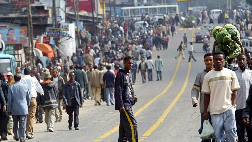 Ethiopia blames foreign hands for stoking unrest