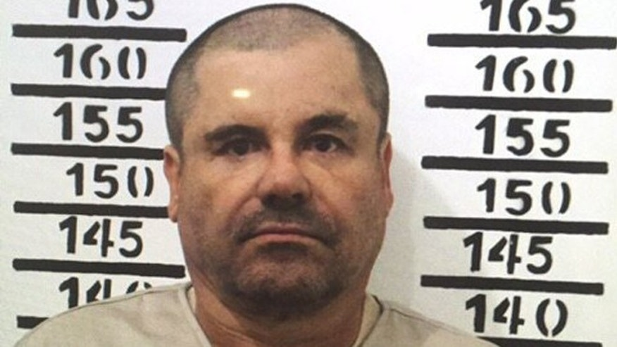 Joaquin 'El Chapo' Guzman in a Jan. 8, 2016 image released by Mexico's federal government.