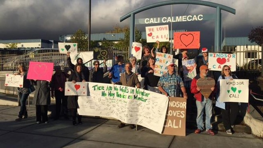 Supporters at Cali Calmecac Language Academy
