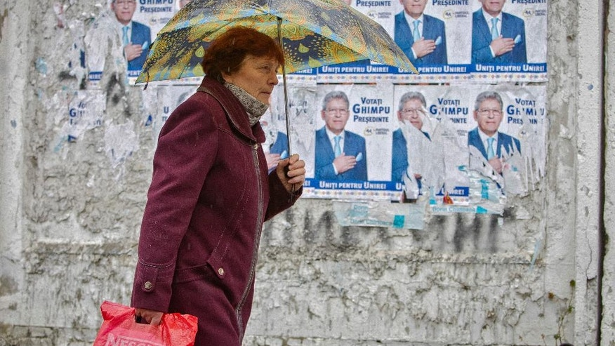 Moldovans elect president for 1st time in 20 years