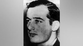 FILE - This undated handout photo from Pressens Bild shows Swedish diplomat and World War II hero Raoul Wallenberg. Swedish authorities have formally confirmed on Monday Oct. 31, 2016, that World War II hero Raoul Wallenberg is dead, 71 years after he disappeared in Hungary. The Swedish diplomat, credited with helping at least 20,000 Hungarian Jews escape the Holocaust, is believed to have died in Soviet captivity, though the time and circumstances of his death remain unresolved. (Pressens Bild via AP, File)