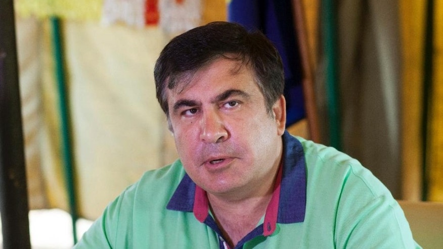 Mikhail Saakashvili in June.