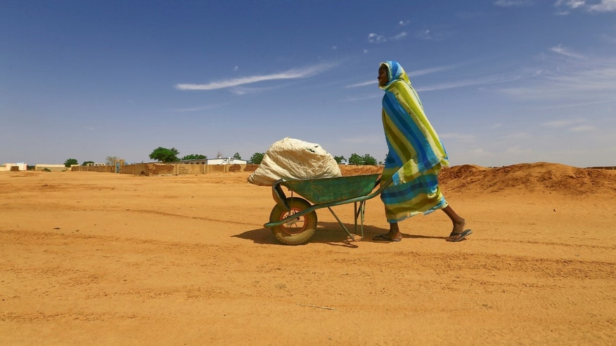 Woman in North Darfur, Sudan