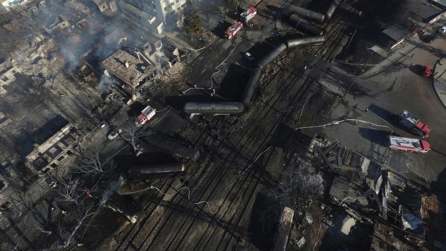 Four killed in Bulgaria train explosion and derailment