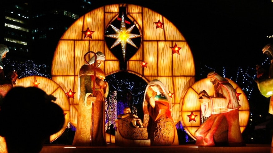 A priest canceled a planned nativity display claiming it could offend other faiths.