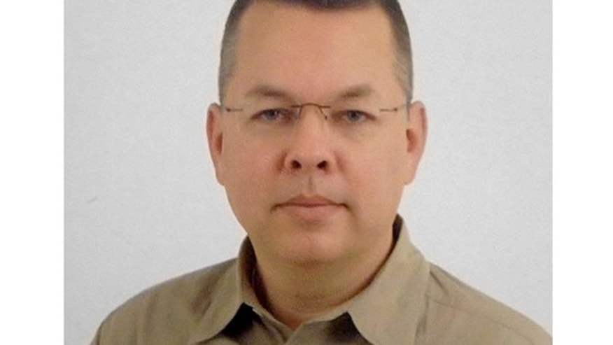 This undated photo, provided by the ACLJ, shows pastor Andrew Brunson.