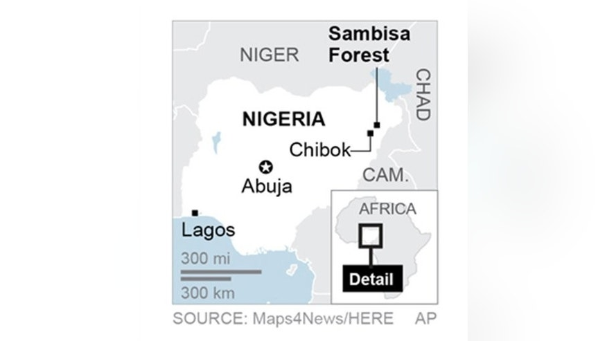Boko Haram has been driven into the Sambisa Forest.