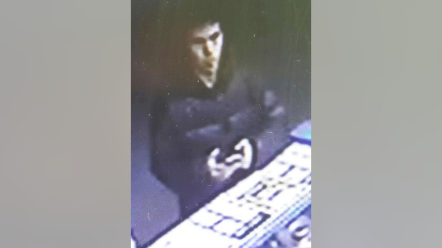 This image taken from CCTV provided by Haberturk Newspaper Monday Jan. 2, 2017 shows the man identified by police as the main suspect in the New Year's Day terror attack at an Istanbul nightclub, earlier that night before the attack.  The attack at the nightclub in Istanbul's Ortakoy district during New Year's celebrations, killed dozens of people and wounded dozens of others. (CCTV/Haberturk Newspaper via AP)