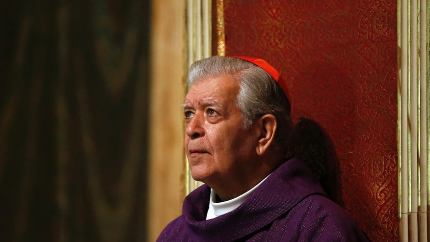 Cardinal Jorge Urosa Savino in a 2013 file photo.