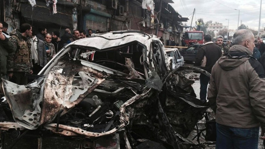 Auto  bomb kills 50 in Syria's Azaz
