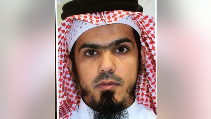 This picture released by the state sponsored Saudi Press Agency purports to show one of two suspected Islamic State militants, killed in Riyadh, Saudi Arabia, Saturday, Jan. 7, 2017. Authorities in Saudi Arabia say police have shot and killed two suspected Islamic State extremists in the capital, Riyadh. The Interior Ministry says the two suspected militants opened fire Saturday on police after being surrounded in the capital's northern Yasmeen neighborhood, forcing officers to return fire and kill them. (Saudi Press Agency via AP)