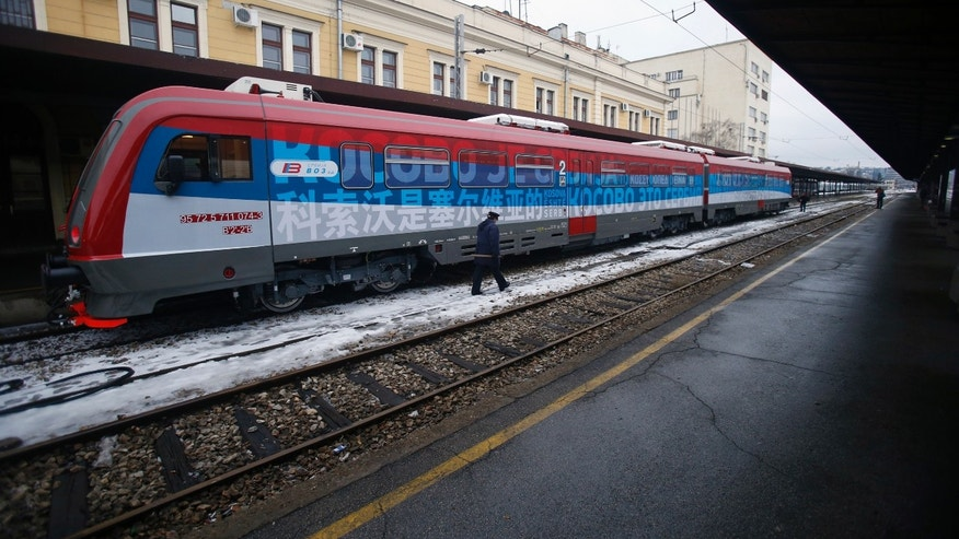 'Provocative' train brings Serbia and Kosovo 'to brink of conflict'