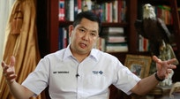 Trump partner eyes Indonesia power, sees faults in democracy
