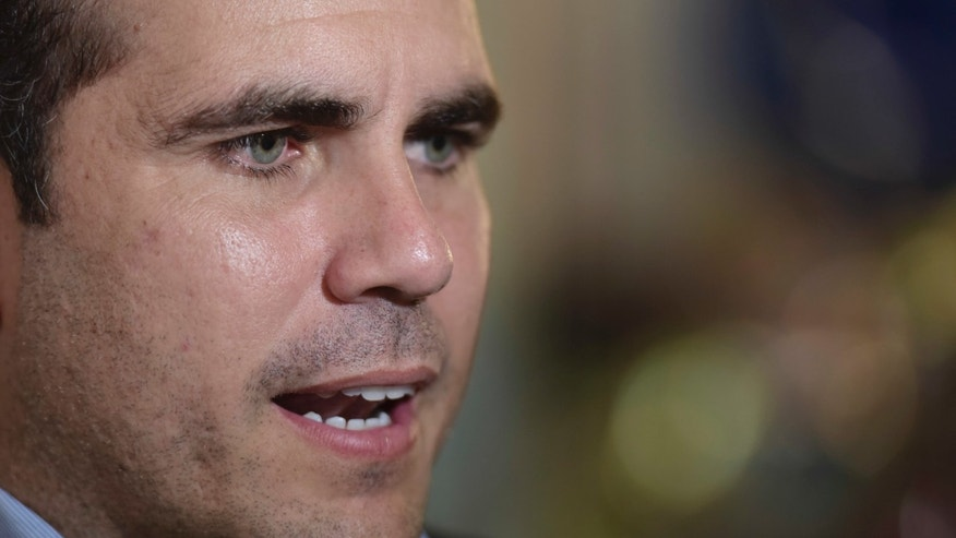 Gov. Ricardo Rossello in an October 2016 file photo.