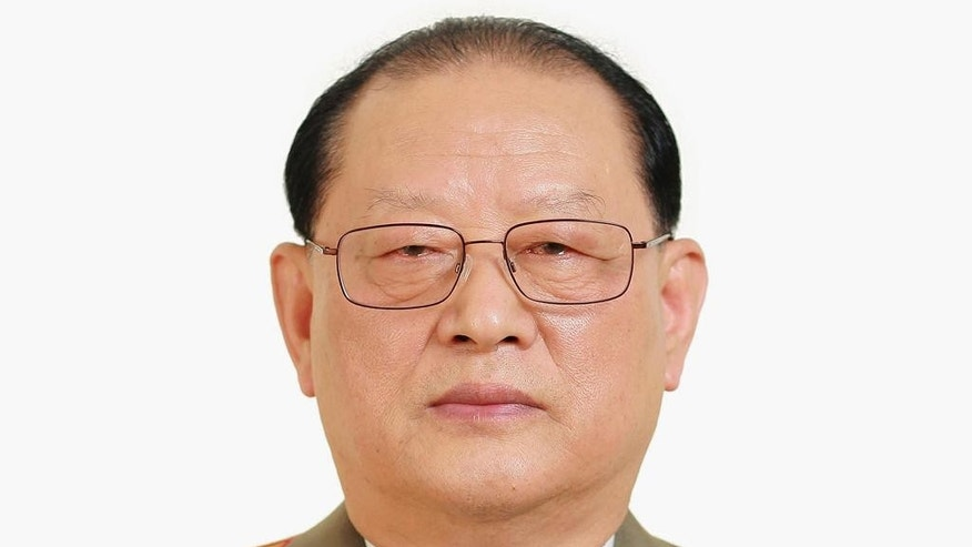 FILE - In this photo distributed on Wednesday, May 11, 2016, by the North Korean government, Kim Won Hong, elected as a member of the Political Bureau of the Workers' Party at the Workers' Party congress on May 9, poses for a photo. The South Korean government on Friday, Feb. 3, 2017, said Kim Won Hong, North Korea's state security minister, was fired last month, presumably over corruption, abuse of power and torture committed by his agency. (Korean Central News Agency/Korea News Service via AP, File)