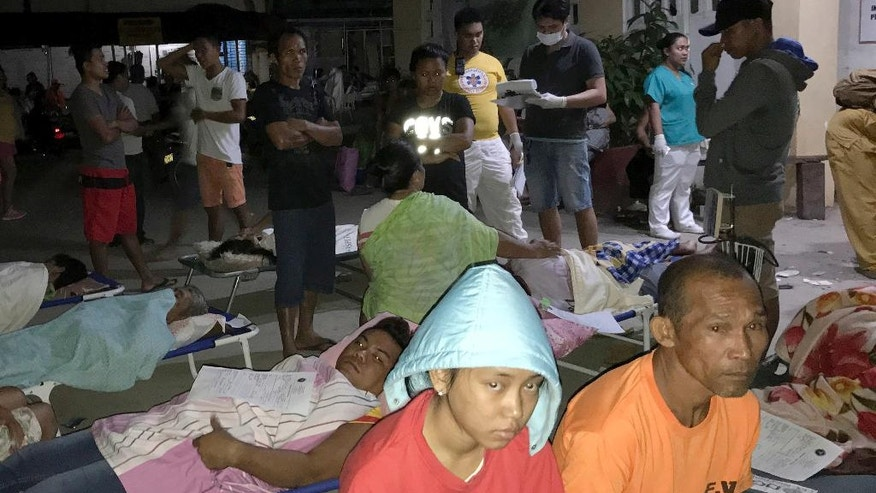 Aftershocks continue in Philippines after quake kills 8 ...