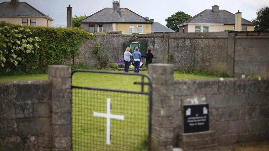 Infants' remains found at former mother and baby home in Ireland