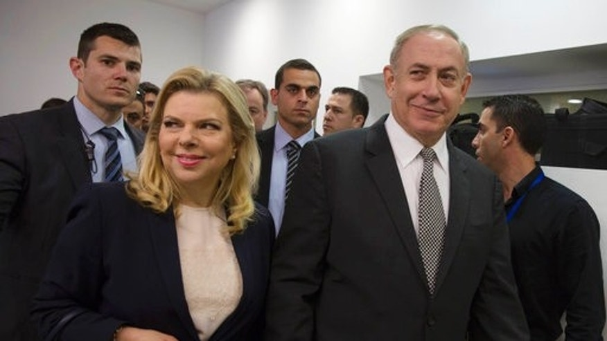 Benjamin Netanyahu appears in court over libel suit