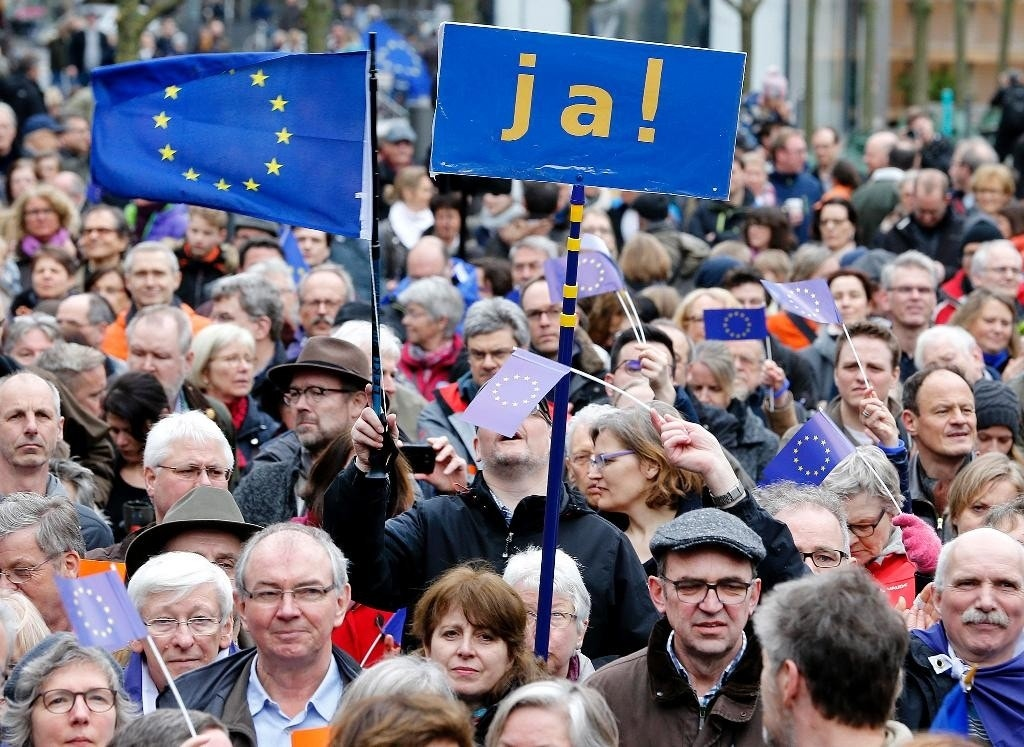 Thousands join rallies pro-Europe rallies across Germany ...