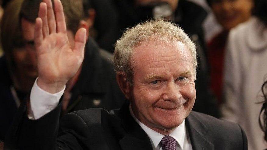 Martin McGuinness in 2011.