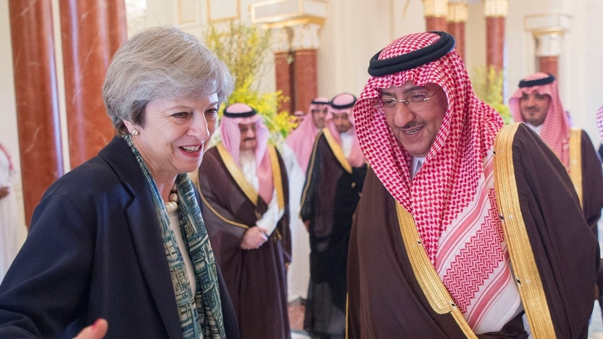 British PM arrives in Saudi Arabia on mission to boost ties