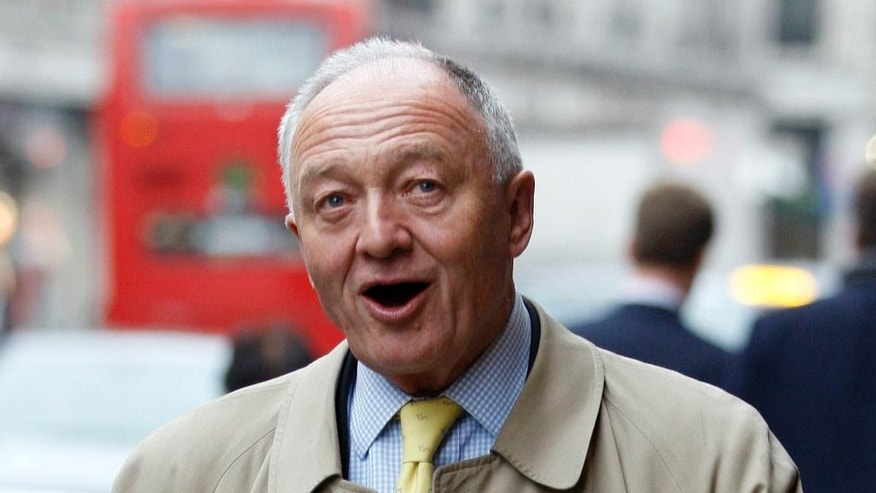 FILE - In this Thursday, April 5, 2012 file photo, Labour's Ken Livingstone arrives on Regent Street for a visit to Hamleys toy shop in London. Jewish leaders in Britain are accusing the opposition Labour Party of tolerating anti-Semitism after it failed to expel a senior politician who said Adolf Hitler had been a supporter of Zionism. Former London Mayor Ken Livingstone was been declared in breach of party rules on Tuesday, March 4, 2017 and suspended until April 2018. (AP Photo/Kirsty Wigglesworth, file)