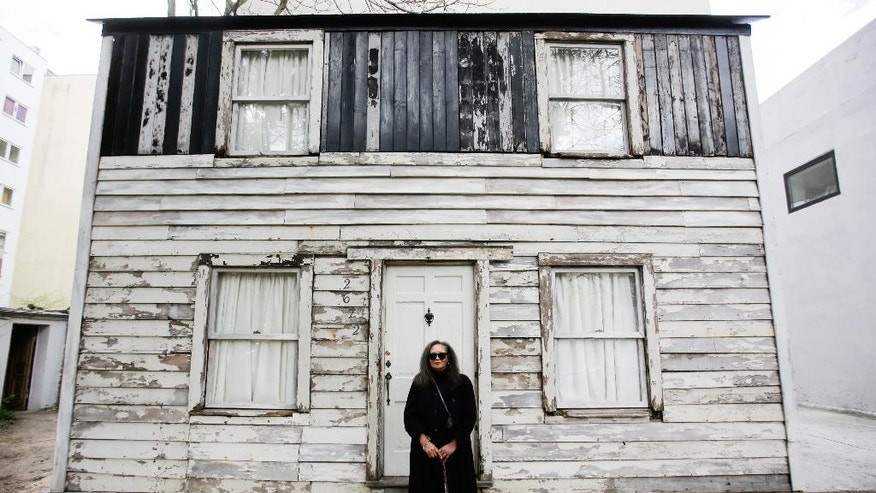 Artist moves civil rights icon Rosa Parks' home to Germany ...