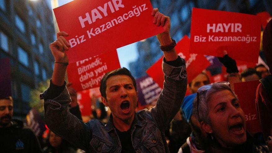 Turkey's electoral board rejects calls to annul referendum