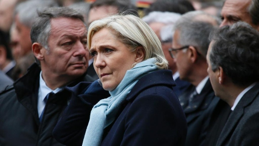 Marine Le Pen Steps Down As Leader Of National Front, For Now