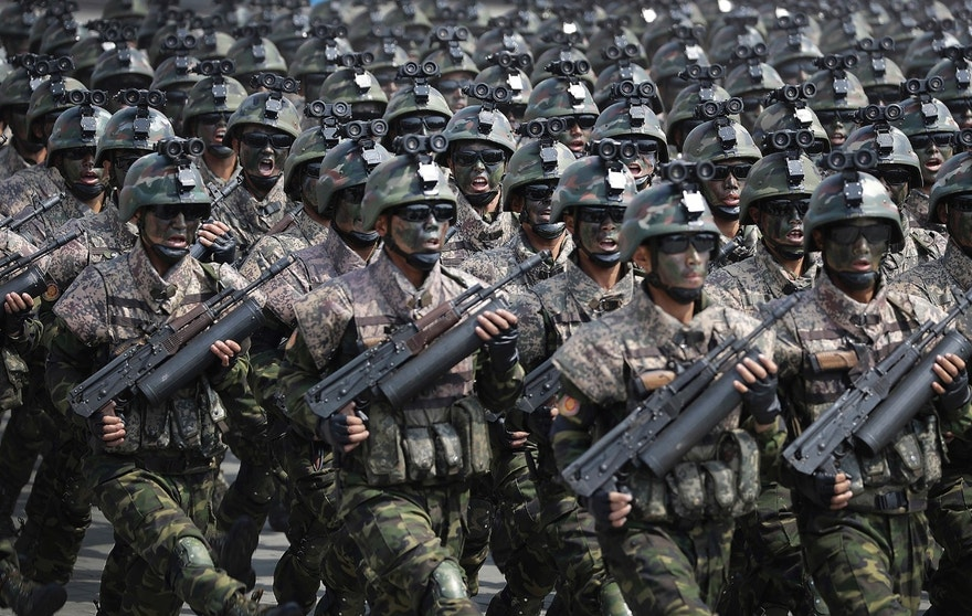 Image result for North Korean soldiers: A closer look the military's 'fake' capabilities