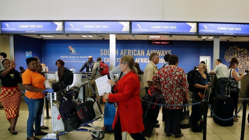 Strike forces South African Airways to cancel some flights