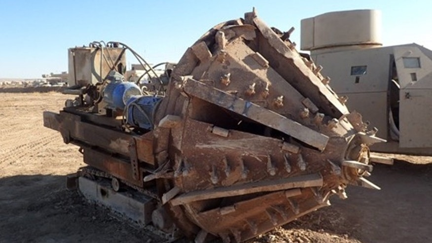 Image result for isis tunnel boring