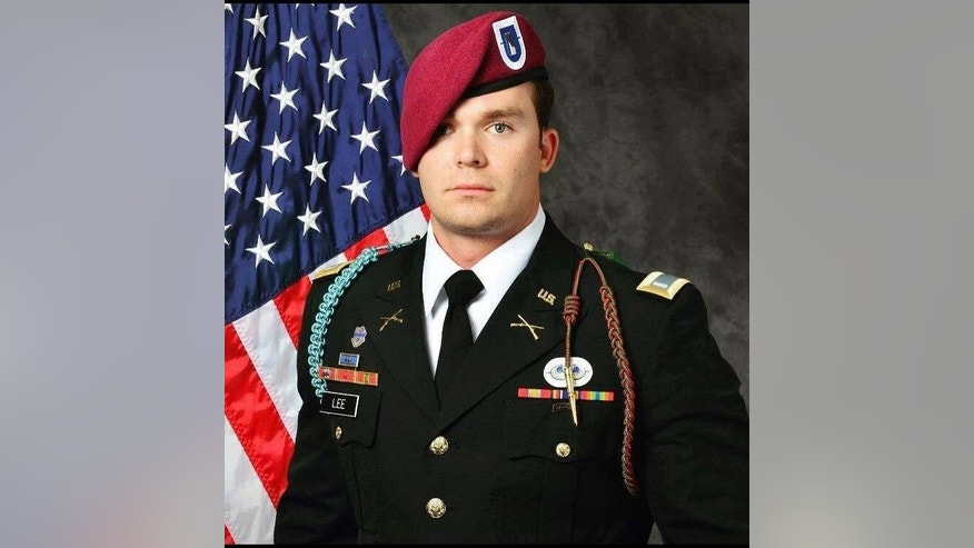 U.S. Army paratrooper Weston C. Lee was killed in Iraq on April 29.