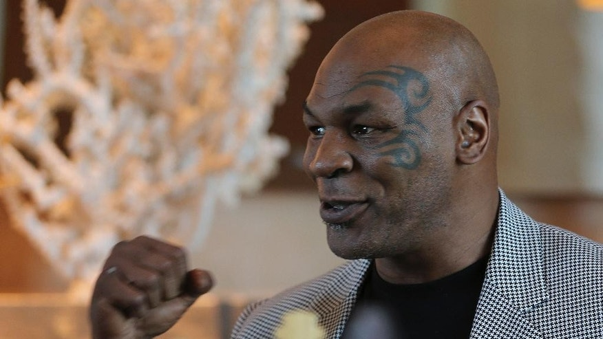 Mike Tyson lauds Dubai while promoting boxing gym ...